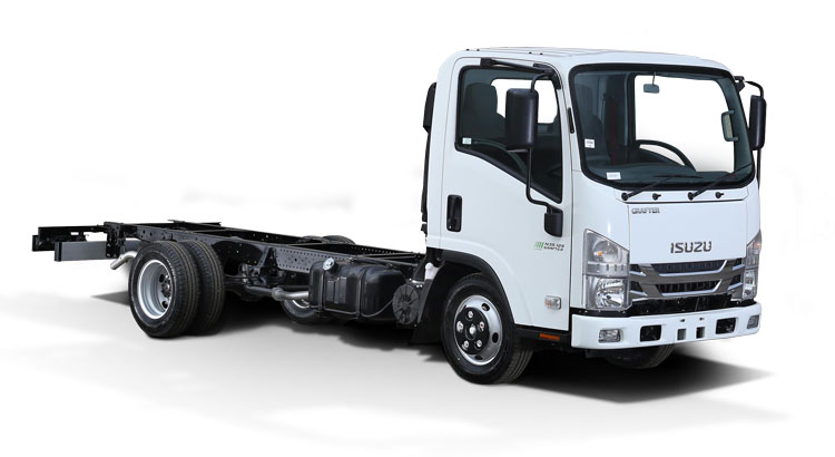 Chassis cab Isuzu Grafter Green