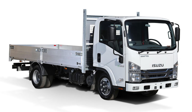 Dropside Isuzu Grafter Green
